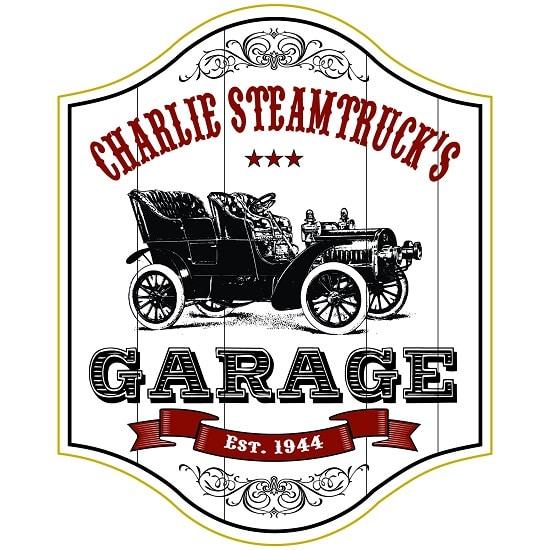 Personalized Garage Premium Wood Sign