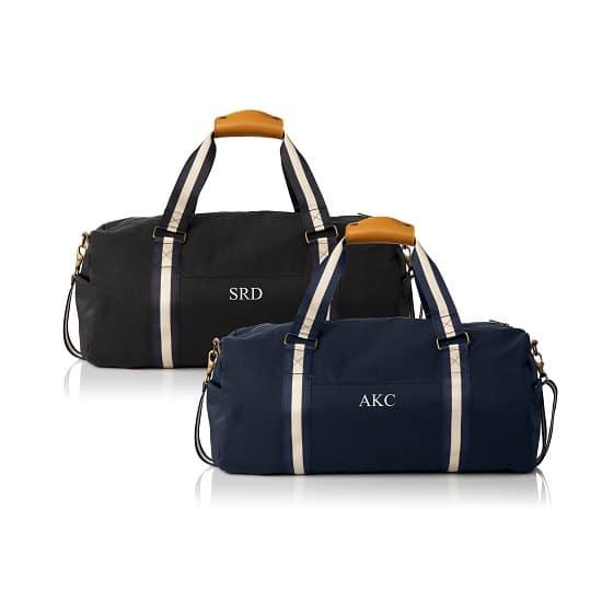 Personalized Men's Nylon Weekender Duffle Bag