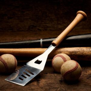 Personalized BBQ Spatula with Baseball Bat Handle