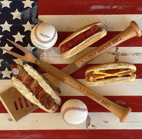 The best way to enjoy the 4th of July is grilling and watching baseball.