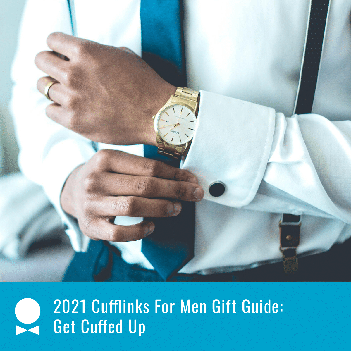 cufflink for men gift guide