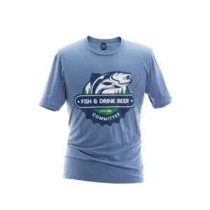 fish and drink beer committee t-shirt