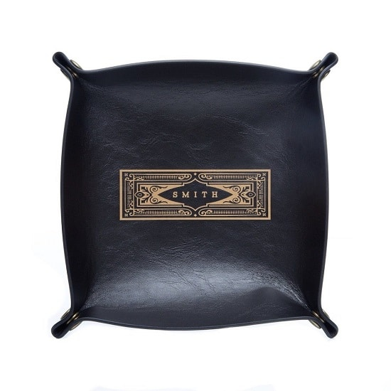 Black Catch All Tray by Swanky Badger