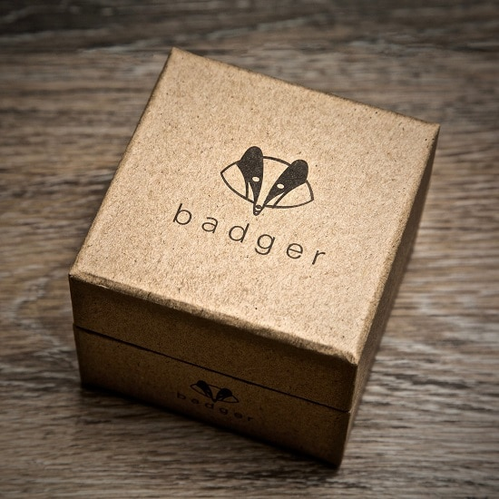 Swanky Badger Gift Box for the Sandalwood Wrist Watch