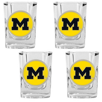 NCAA Whiskey Glass