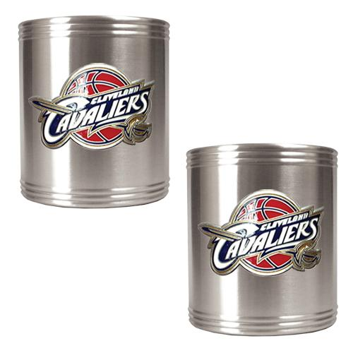 NBA 2pc. Stainless Steel Can Holder Set