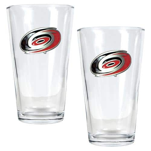 NHL 2pc. Pint Ale Glass Set